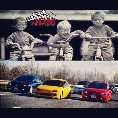 How we use to race.... How we race now(: Jdm Cars