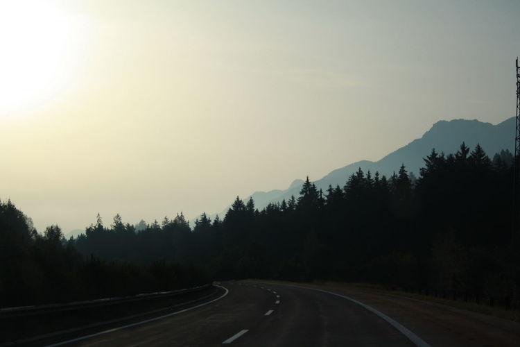 Open Road Road Roadtrip Mountain Road Lonenly Road