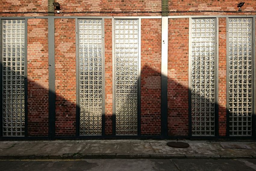 Zickzack... Day Outdoors No People Pattern Architecture The Architect - 2017 EyeEm Awards Berlin City Built Structure Glass - Material Brick Wall Background Discover Berlin EyeEm Ready   The Graphic City