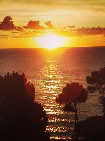 Sea Winter Sunrise Beach Orizon Sunset Silhouette Landscape Scenics Sky Sunlight Outdoors