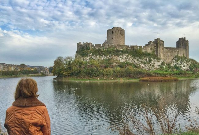 Pembroke Castle Outdoors Castle View  Old Castle Tudor Times Pembrokeshire Majestic From My Point Of View Beautifulplace Reflections Long Goodbye The Great Outdoors - 2017 EyeEm Awards