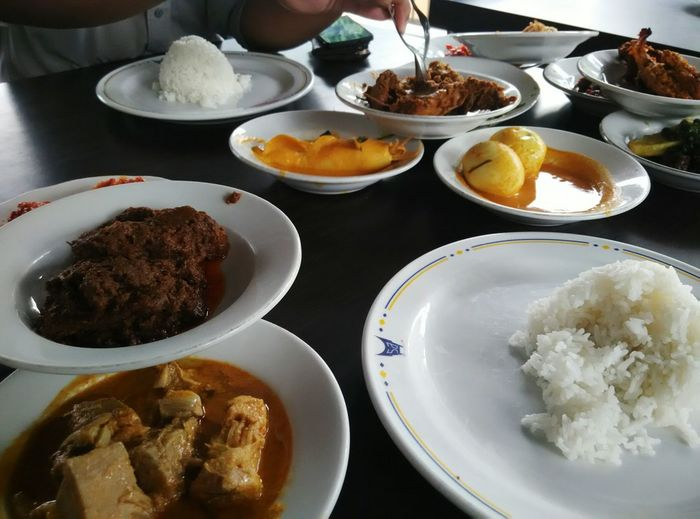 Spicy Food Padang Traditionalfood Indonesian