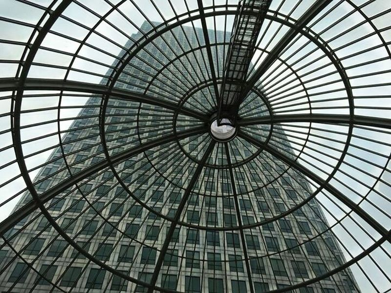 💫🌟 London Roof Sky Built Structure Building Architecture Summer Canary Wharf Home City IPhoneography Beautiful Sky And Clouds Moments Eye4photography  Life
