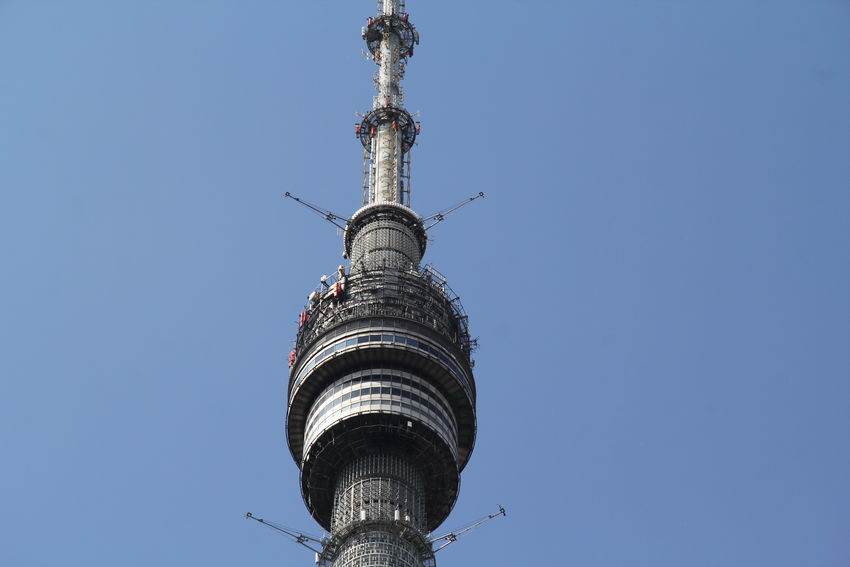 Architecture Building Exterior Built Structure Capital Cities  Clear Sky Famous Place Ostankinotvtower Tall - High Tower Travel Travel Destinations