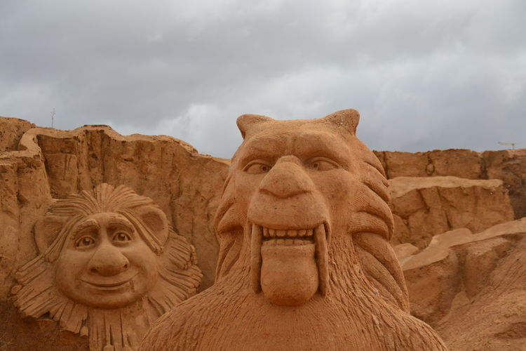 Sculpture Sand Sculptures Imagination Sand Sculpture Sand Sculpture Park No People Art Ice Age