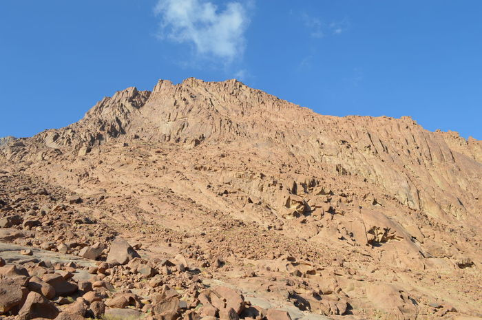 Moses Mountain Beauty In Nature Day Landscape Mountain Nature No People Outdoors Sinai Sinai Egypt Sky St. Catharines