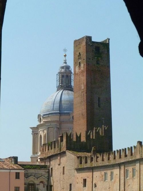 Travel Photography Mantova Piazza Sordello Mantua