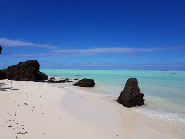 Travel Destinations Tahiti Vacations French Polynesia Relaxing Water Beach Sea Ilsland Cloud - Sky Blue Mer Sand Tranquility Landscape Beauty In Nature