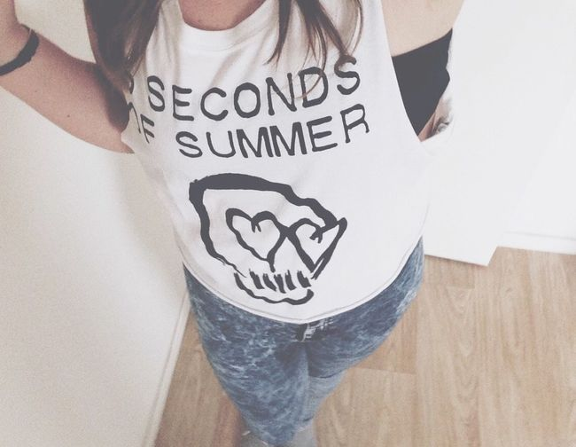 5SOS 5sosfam Teenager Teeshirt Ootd