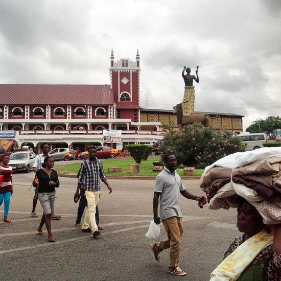 At Adum , Kumasi Photography Igers Ghana Ghana360 © @iamrobotboy™ 2014