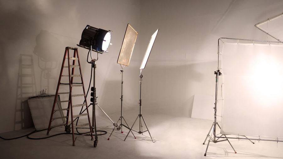 Equipment in studio