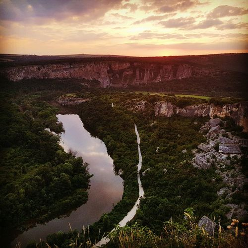 Traveling Summer2016 Essence Of Summer Travelling Photography Bulgaria Bulgariannature Karlukovo Kanyon Sunset