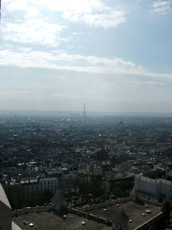 Travel Travelphotography Cityscape City Cloud - Sky Aerial View Travel Destinations Sky High Angle View France Tour Eiffel,