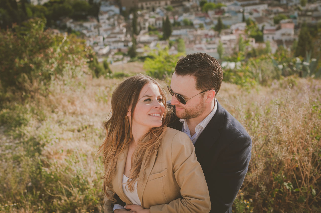 love, two people, togetherness, real people, romance, smiling, couple - relationship, young women, happiness, bonding, focus on foreground, lifestyles, young adult, young men, leisure activity, outdoors, romantic, day, nature