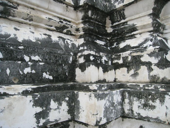Architecture Building Exterior Built Structure Concrete Wall No People Outdoors Temple Textured
