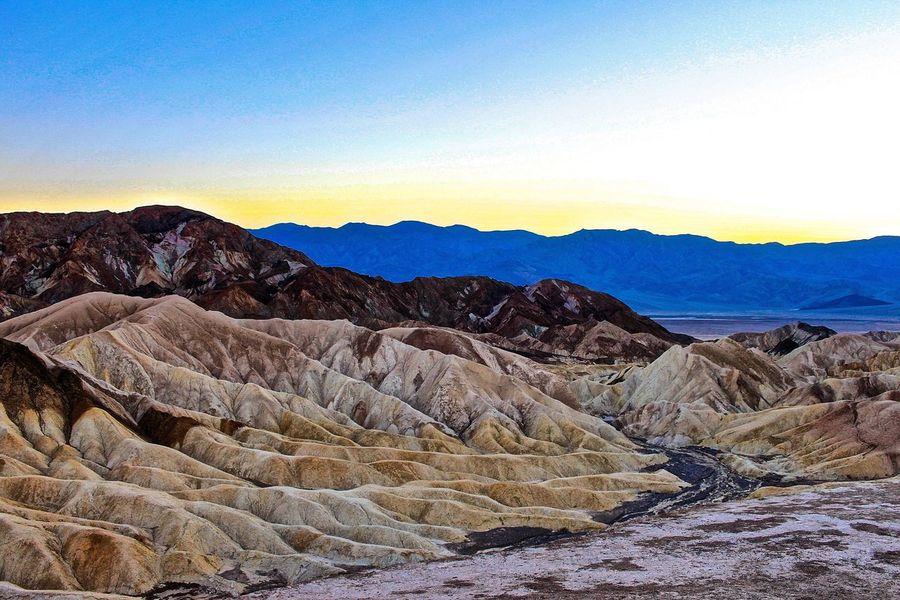 Beauty In Nature Death Valley Desert Desert Landscape Landscape Nature Tranquility Zabriskie Point