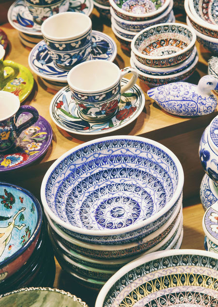 Arrangement Art Bazar Bowl Business Ceramic Ceramic Art Ceramics Choice Close-up Colorfull Colors Craft Dishes Grand Bazaar Grand Bazar Istanbul Handmade Istanbul Market Ornaments Poetry Shop Still Life Turkey