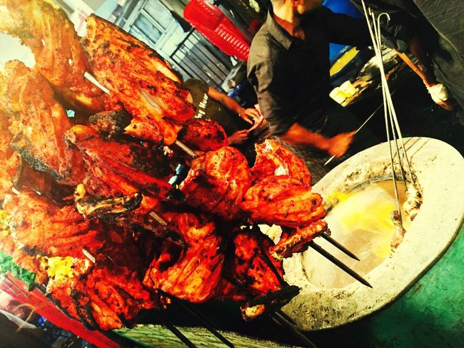 Street food TandooriChicken