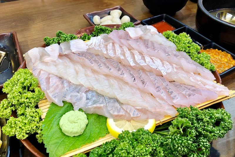 Food And Drink High Angle View Wellbeing Fish Ready-to-eat Sashimi