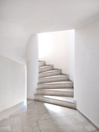 Staircase in building