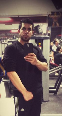 Hi! That's Me In The Gym Train Hard