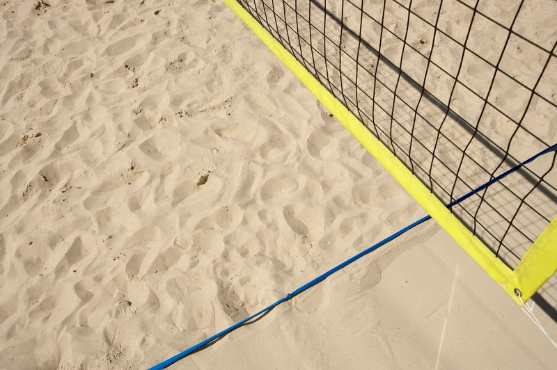 Beachvolleyball Beachvolleyball German Masters Background Texture Beach Beachvolleyballnet Day High Angle View Nature Net No People Outdoors Sand Sand Dune