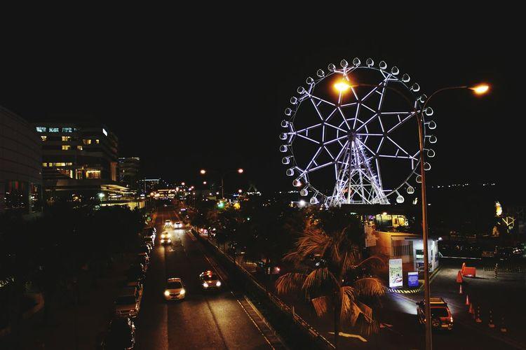 MOA Eye Eyeemphotography Amateurphotographer  Eyeem Philippines Philippines Streets Nightphotography Night Photography Night Lights Nightshot Moaeye Pasay City Urbanphotography