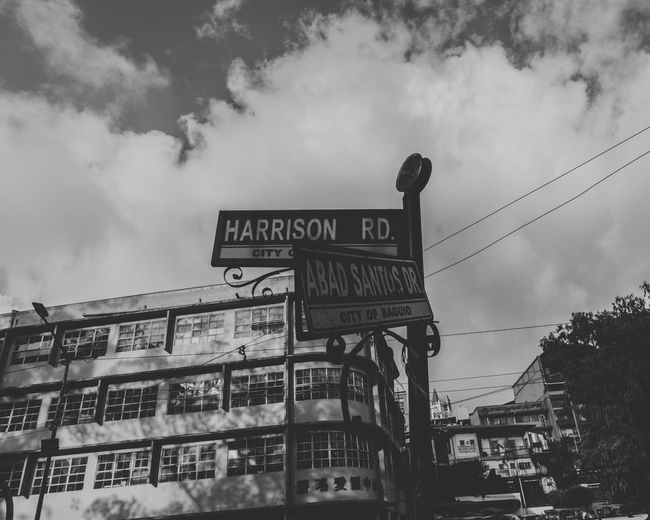 Lost in baguio city. Travel Destinations Baguio City Lost in the Landscape Blackandwhite Architecture Outdoors Guidance Direction Building Exterior Transportation Street Name Sign City Built Structure No People Road Sign Modern Workplace Culture Go Higher The Still Life Photographer - 2018 EyeEm Awards