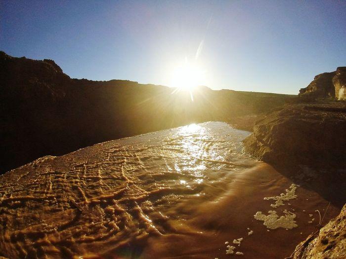 Mountaim Arizona Adventure Outdoors Nature Nature Photography Success Hike Water Waterfall Sunset