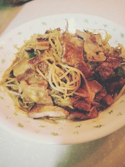 숙주볶음 삼겹살 Korean Food Dinner