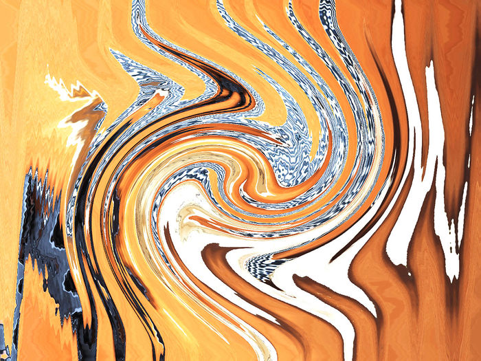 Abstract background Pattern Creativity No People Orange Color Indoors  Art And Craft Paint Abstract Close-up Backgrounds Full Frame Paintings Multi Colored Curve Craft Day Wall - Building Feature Water Motion