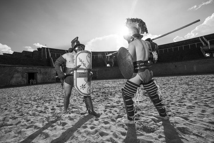 Arena Colosseo Colosseum Fight Gladiators Roma Rome Warrior
