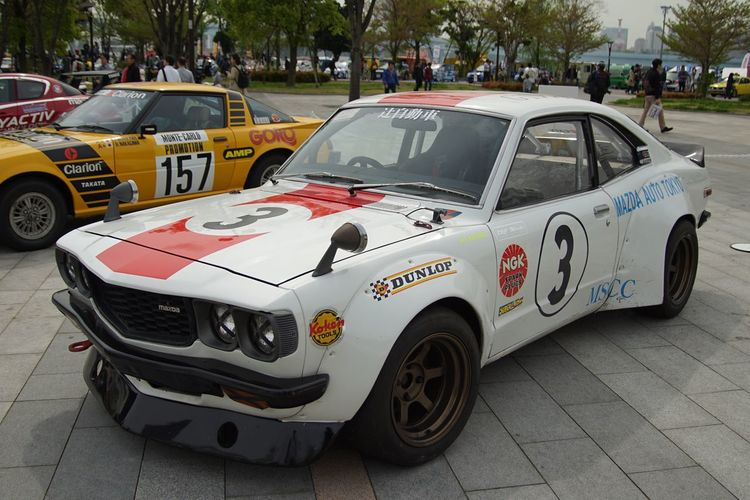 Motor Sport Japan 2016 Legend Of The Mazda Mazda Savanna RX-3 Racing Car Motor Sport Car Cars EyeEm Best Shots Enjoying Life Snapshot Taking Photos Walking Around お写ん歩