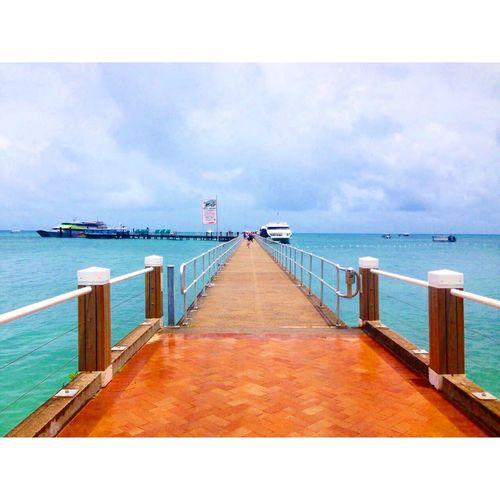 Finally We went to Greatbarrierreef ☀︎? :) Australia Greenisland Cairns