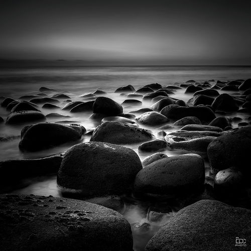 Lofoten Norway Dark Blackandwhite Light And Shadow Mood Big_world_photo Rocks Beauty In Nature Beach Beautiful Monochrome Amazing Silence Of Nature Sea Beach Horizon Over Water No People Beauty In Nature Water Scenics Nature Sand Landscape Outdoors Clear Sky