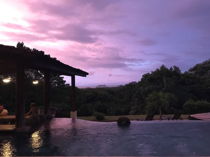 The Week On EyeEm Sky Cloud - Sky Tree Outdoors Built Structure Architecture No People Nature Beauty In Nature Water Day Dramatic Sky Sunset Sunset_collection Enjoying Life Costa Rica Coco Boutique Boutiquehotel Love Romance Poolside Pool Rancho