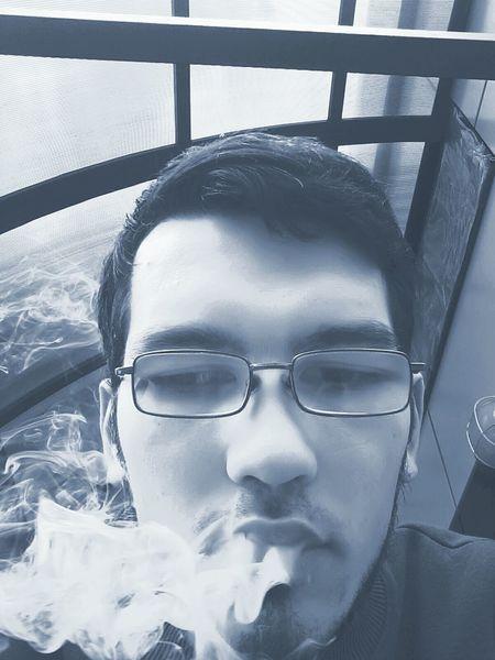 Я люблю дым....