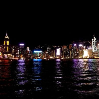 HongKong Nightphotography Landscape Mobilephotography EyeEm Best Shots Victoria Harbour Photography