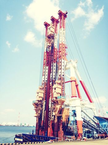 Enjoying Life Japan Steel TowerLC (^ν^)港に潜入( ^ω^ )