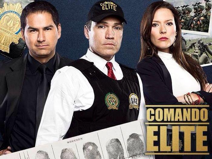 Hoy gran estreno de COMANDO ELITE una producción de Dramax para Rcn