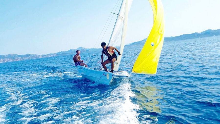 Self Portrait Around The World Caprera Sailing