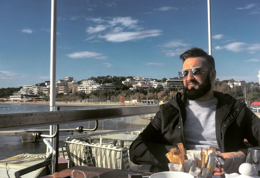Greece. Athens. Vouliagmeni. https://audiojungle.net/user/orangeofsound/portfolio Only Men Adults Only Beard One Man Only Architecture Sky Outdoors Portrait One Person BeardMan ♡♡ That's Me✌️ Sunlight Diploidrec Love ♥ Athens Greece Vouliagmeni