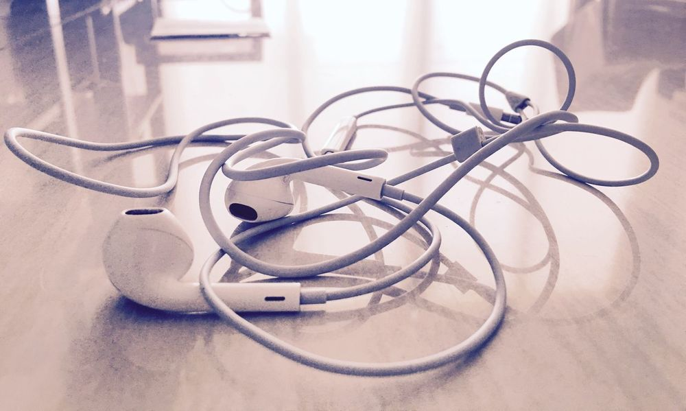 Ear Phones Indoors  Man Made Object Focus On Foreground Creativity No People Music EyeEm Side View Close-up Lifestyles Fresh On Eyeem  Refreshment