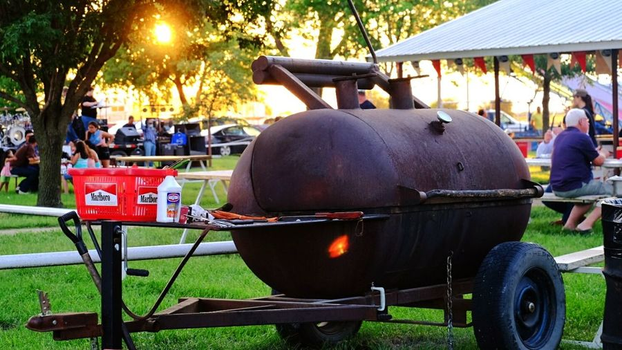 Carnival BBQ Cooking Small Town USA Picnic Live Music A Day In The Life Sunset Color Photography Taking Photos