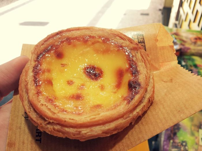 Taste this. Feeling Heaven in Earth Egg Tart Portugies