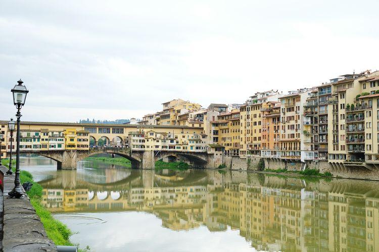 Ponte Vecchio Tourism Bridge - Man Made Structure Architecture Italy Florence Firenze First Eyeem Photo