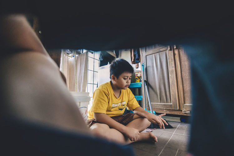 Playtime. Sitting One Person People Casual Clothing Indoors  ChildCheerful Chidren Photography Mix Yourself A Good Time Children At Play Children Playing Children Happytime Happy People Day