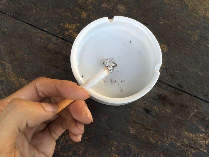 Cigarette and