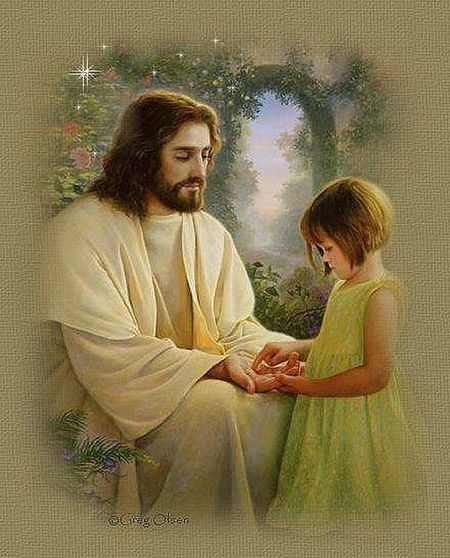 Jesus loves the little children. Hanging Out