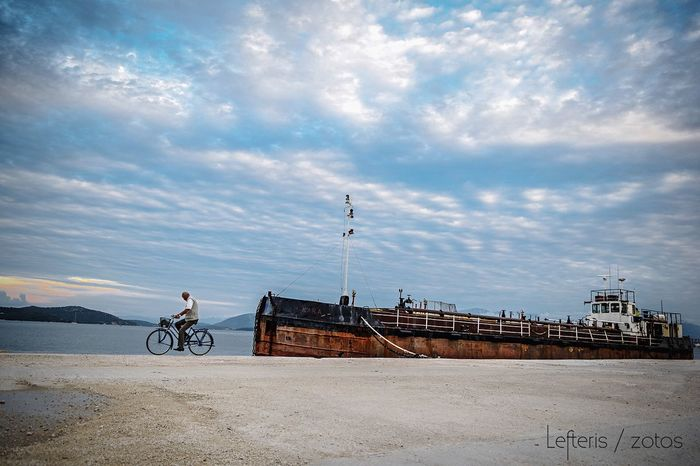 Fall Beauty Photography Ship Bicycle Sky Landscape_Collection Enjoying Life Sky Collection